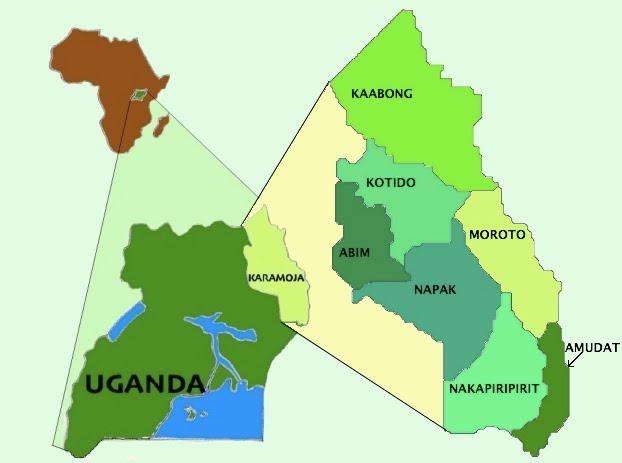 Karamoja Map 3